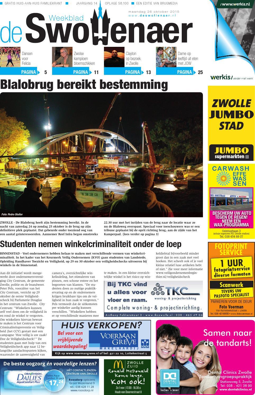 Weekblad De Brug - week 41 2016 (editie Hendrik-Ido-Ambacht) by ...