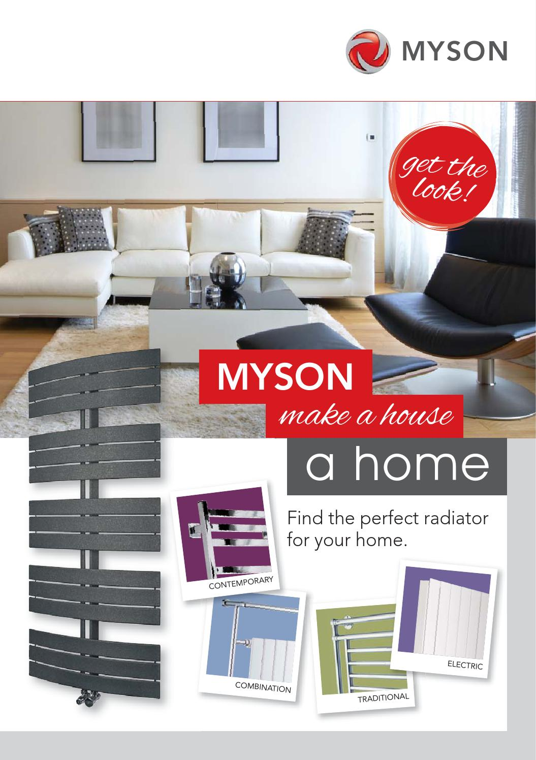 Myson design product sales magazine by myson issuu for Myson decor