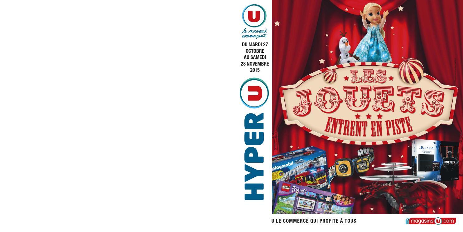 catalogue de jouets hyper u no l 2015 by yvernault issuu. Black Bedroom Furniture Sets. Home Design Ideas