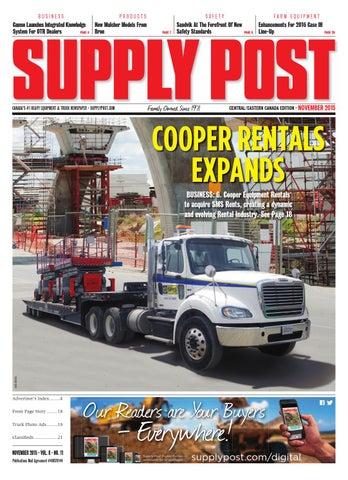 Supply Post Eastern Cover - November 2015