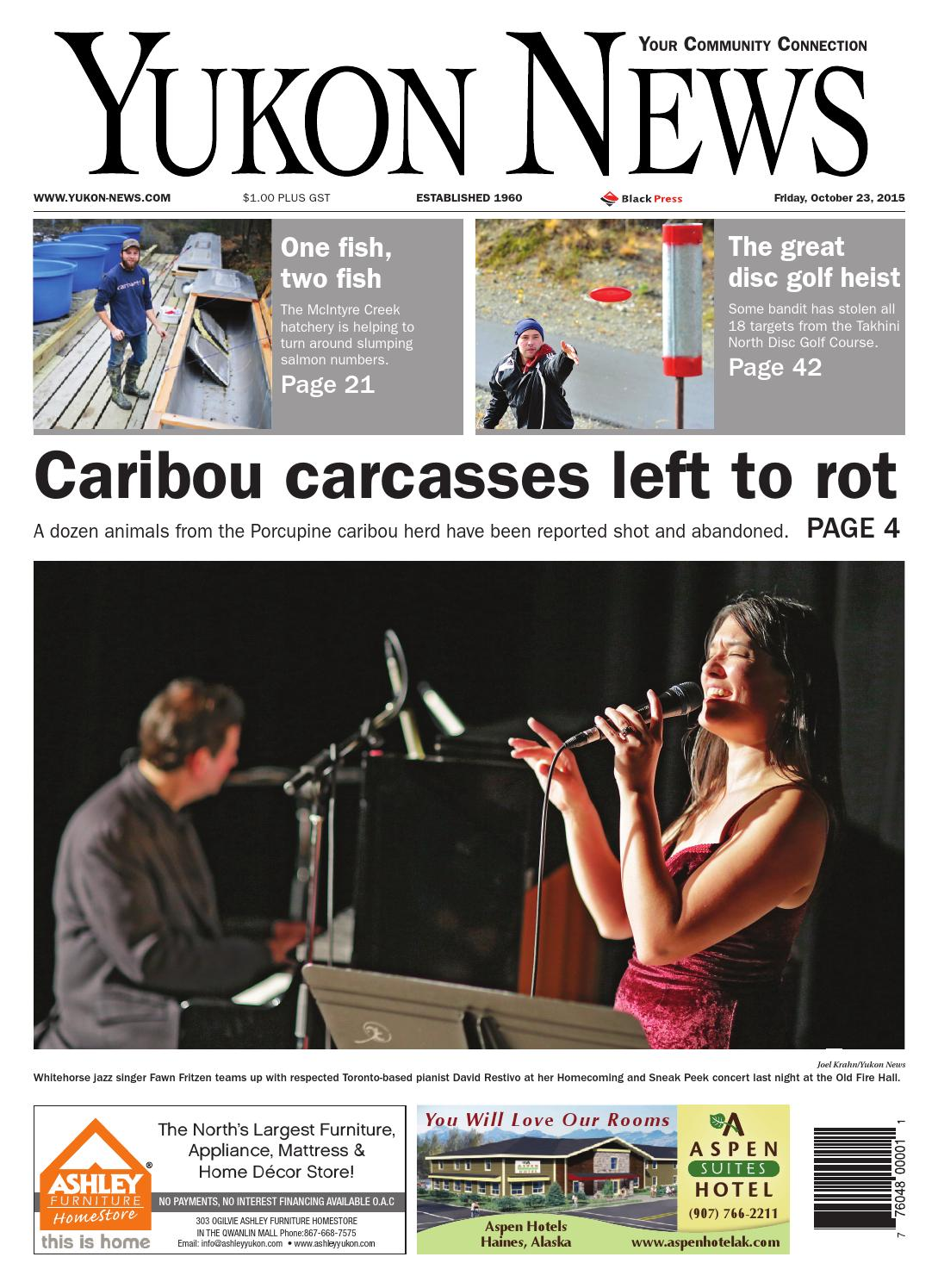 Yukon news, october 02, 2015 by black press   issuu