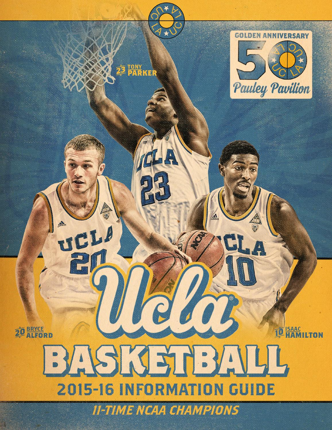 2015-16 UCLA Men's Basketball Information Guide by UCLA ...
