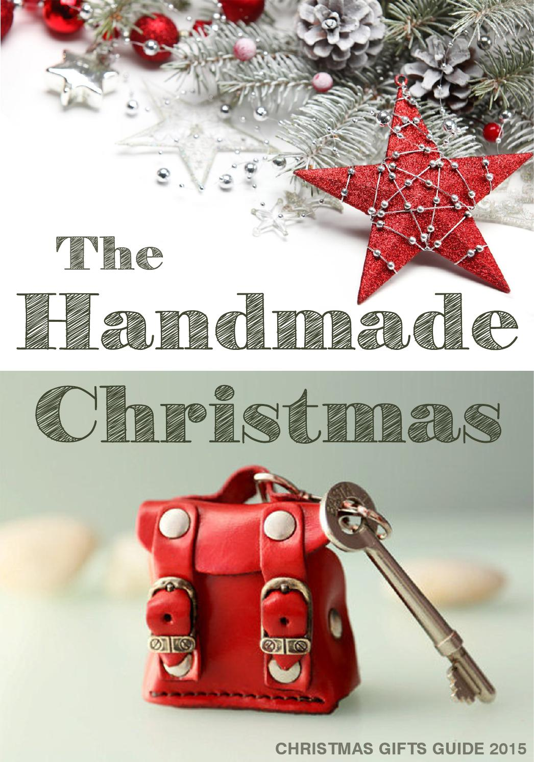christmas gifts guide 2015  handmade  by secondstudio