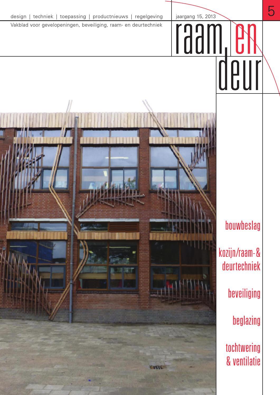 raam en deur editie 5 2015 by plancommunicatie issuu. Black Bedroom Furniture Sets. Home Design Ideas