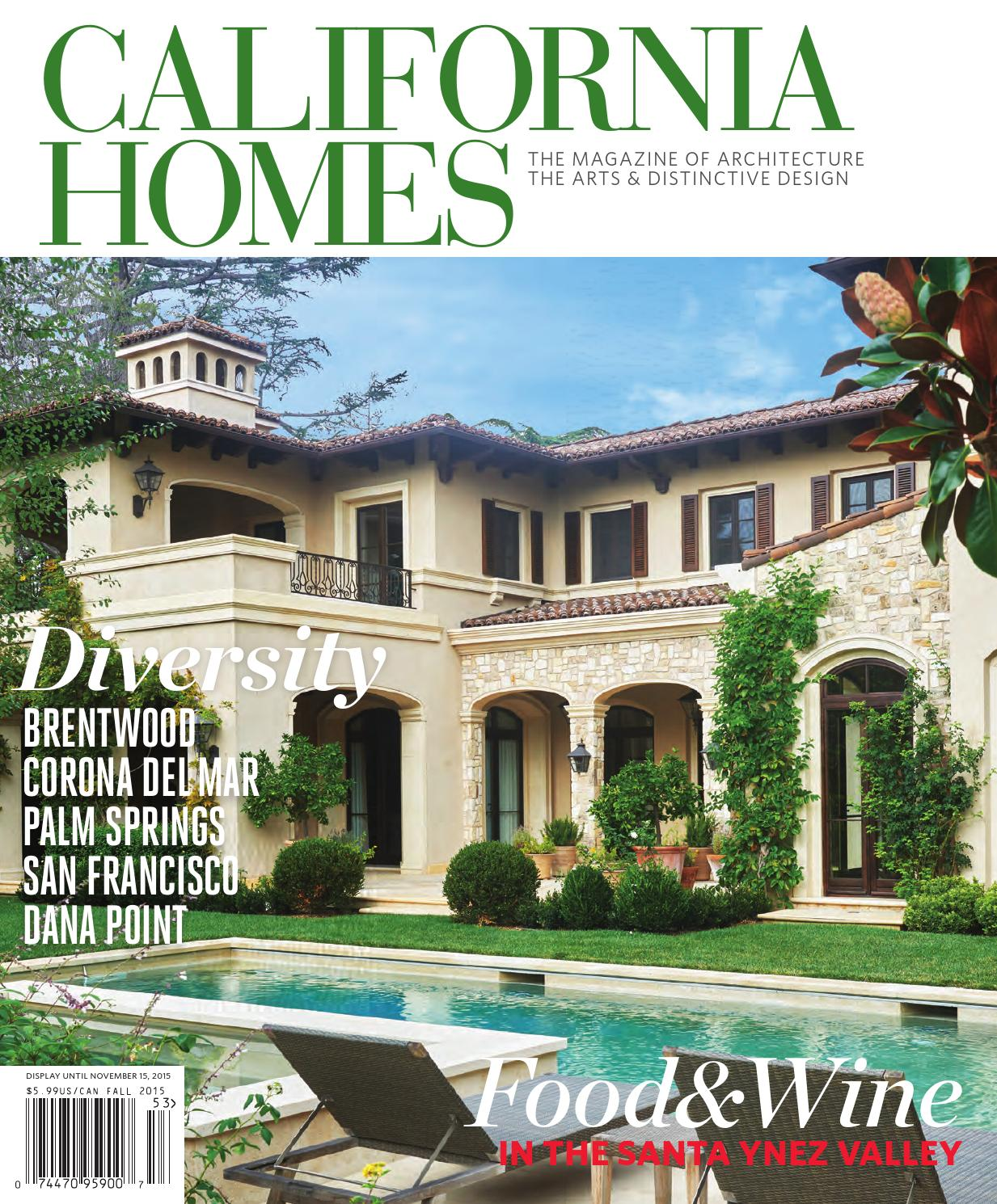 California homes fall 2015 by california homes magazine for Home builders magazine