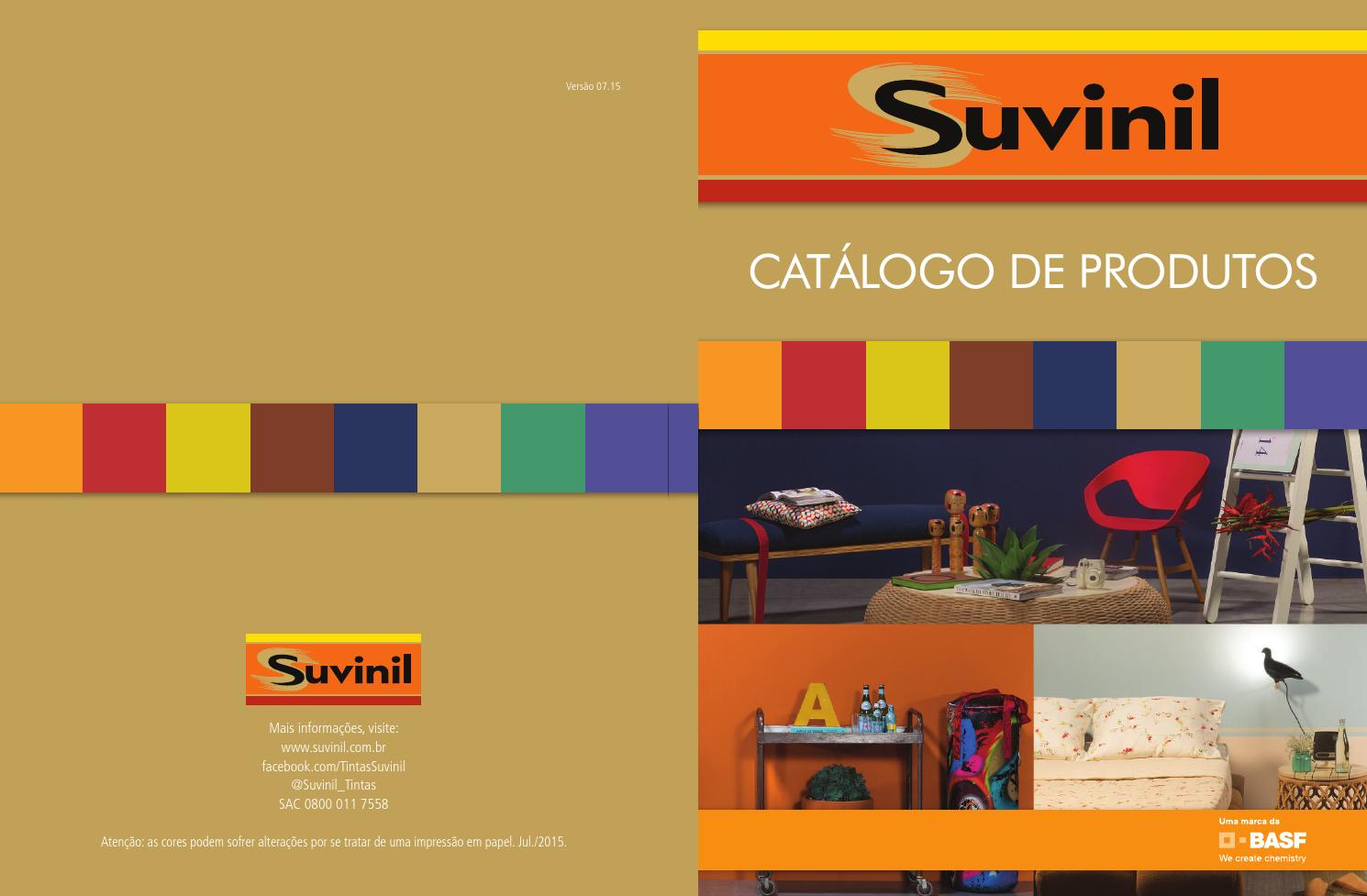 Catalogo suvinil by dismil issuu for Catalogo casa