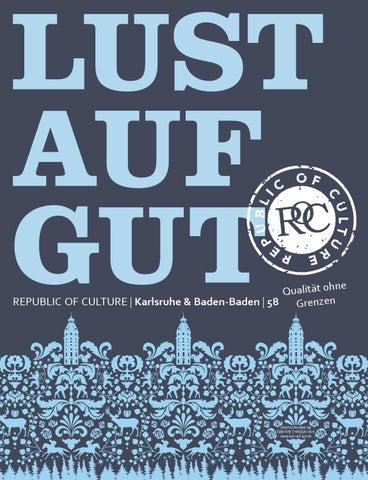 LUST AUF GUT Magazin | Karlsruhe & Baden-Baden Nr. 58