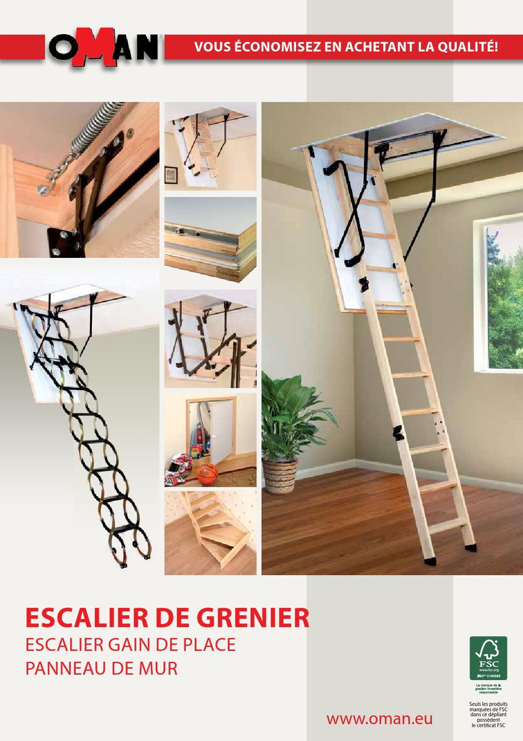 escalier de grenier by oman issuu. Black Bedroom Furniture Sets. Home Design Ideas