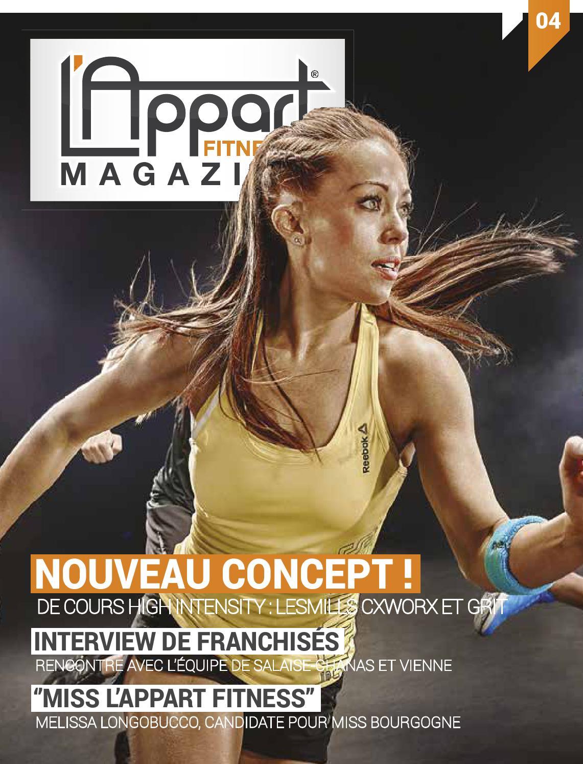 l 39 appart fitness magazine 04 by mog design issuu. Black Bedroom Furniture Sets. Home Design Ideas