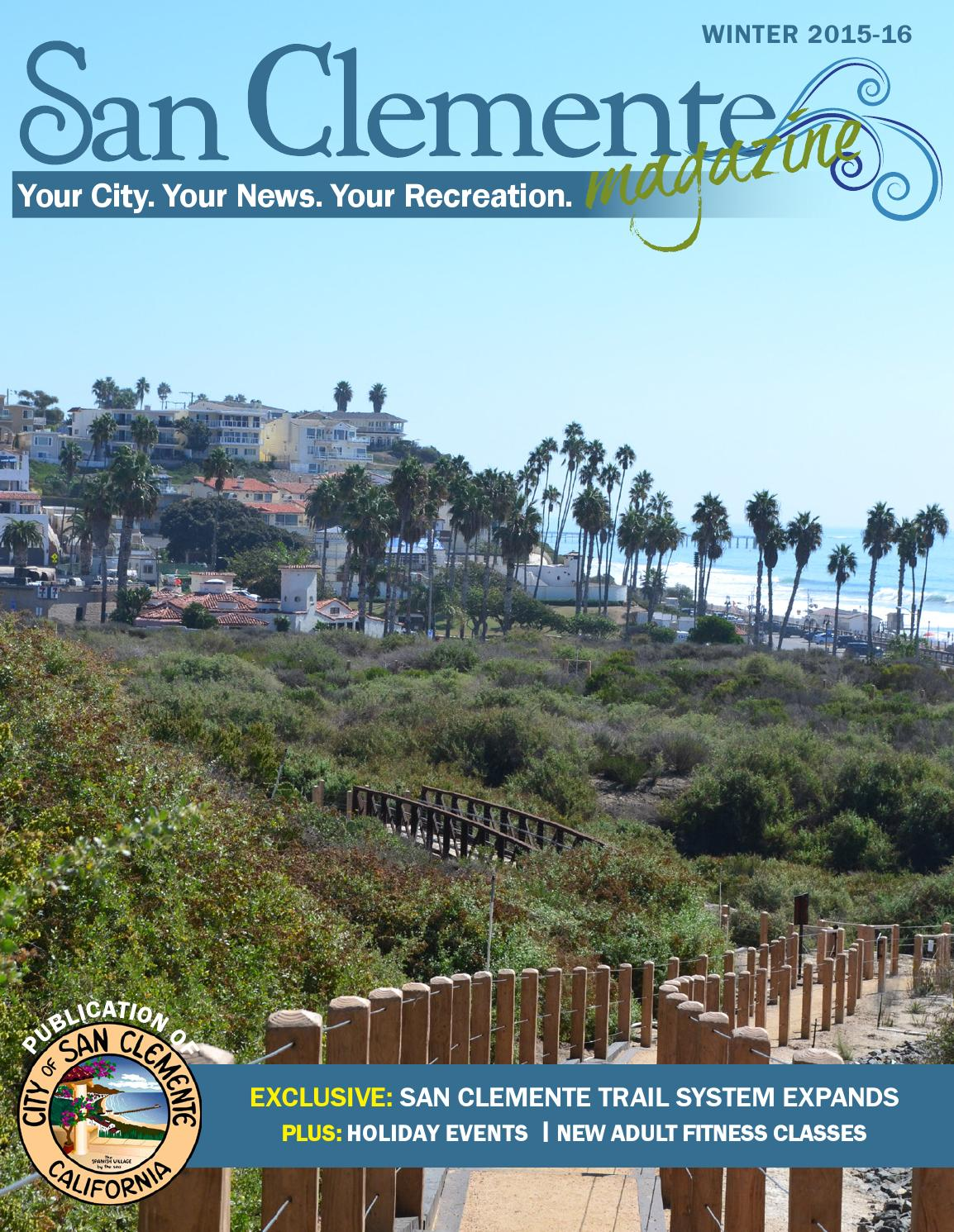 CIty Of San Clemente Magazin SPRING 2016 By City Of San Clemente