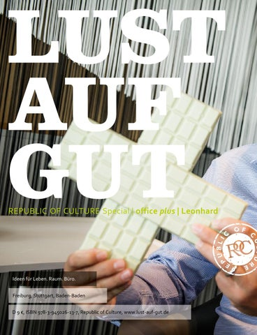LUST AUF GUT Magazin | Special: Office Plus / Leonhard