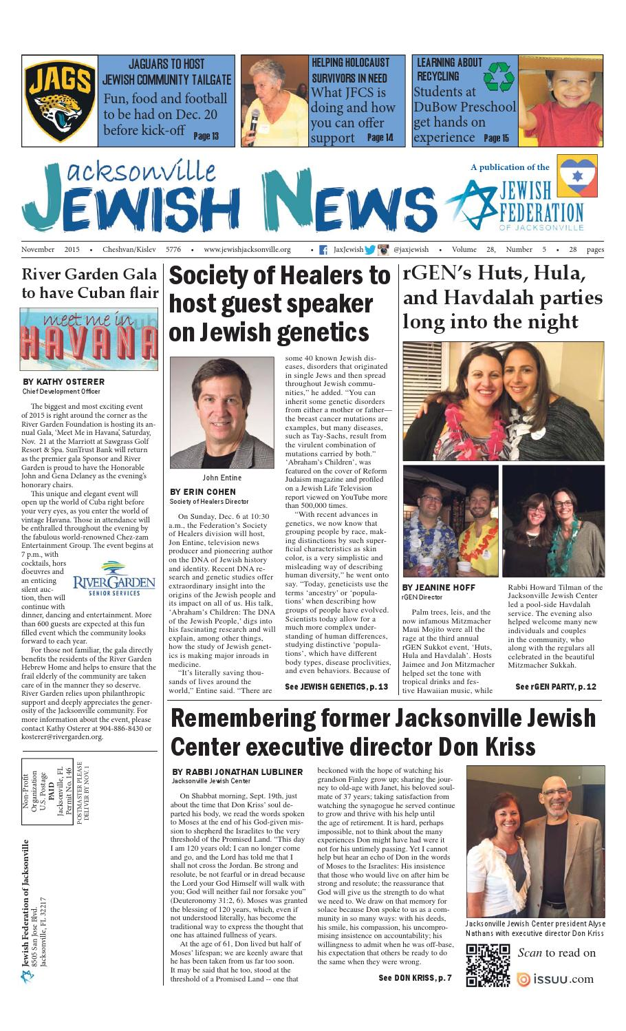 Canada Goose kids outlet cheap - Jacksonville Jewish News - October 2015 by Jewish Jacksonville ...