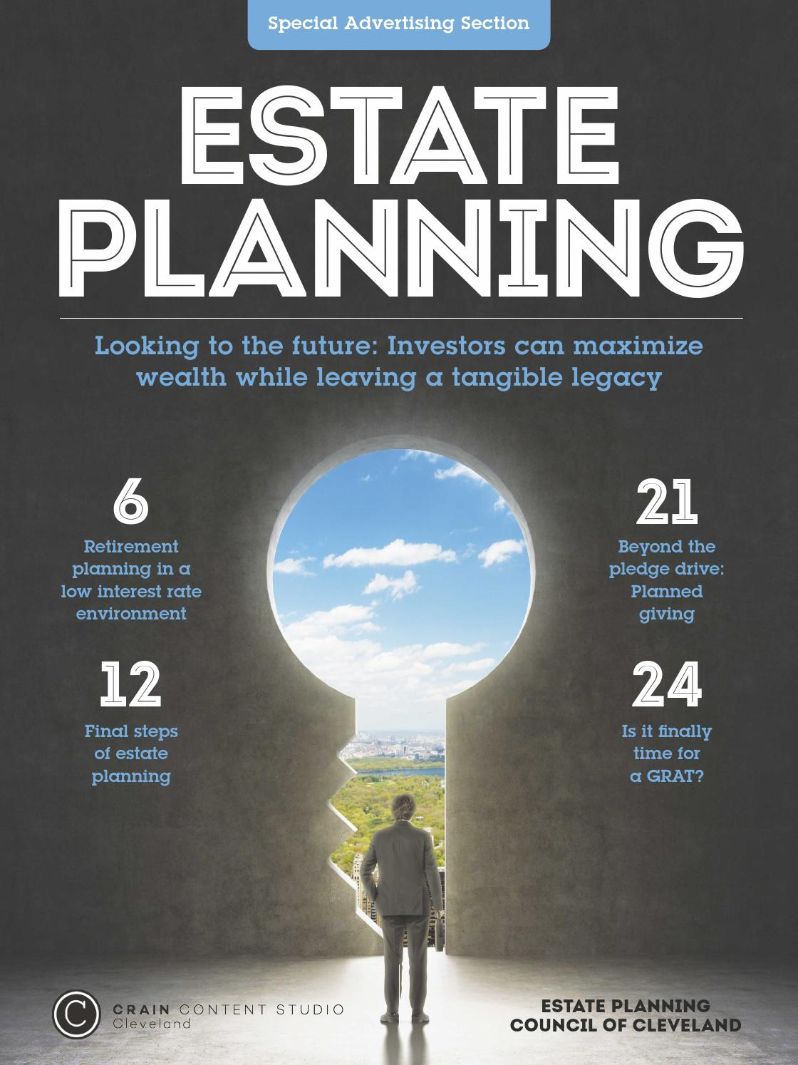 Estate Planning 2015 By Crain S Cleveland Business Issuu