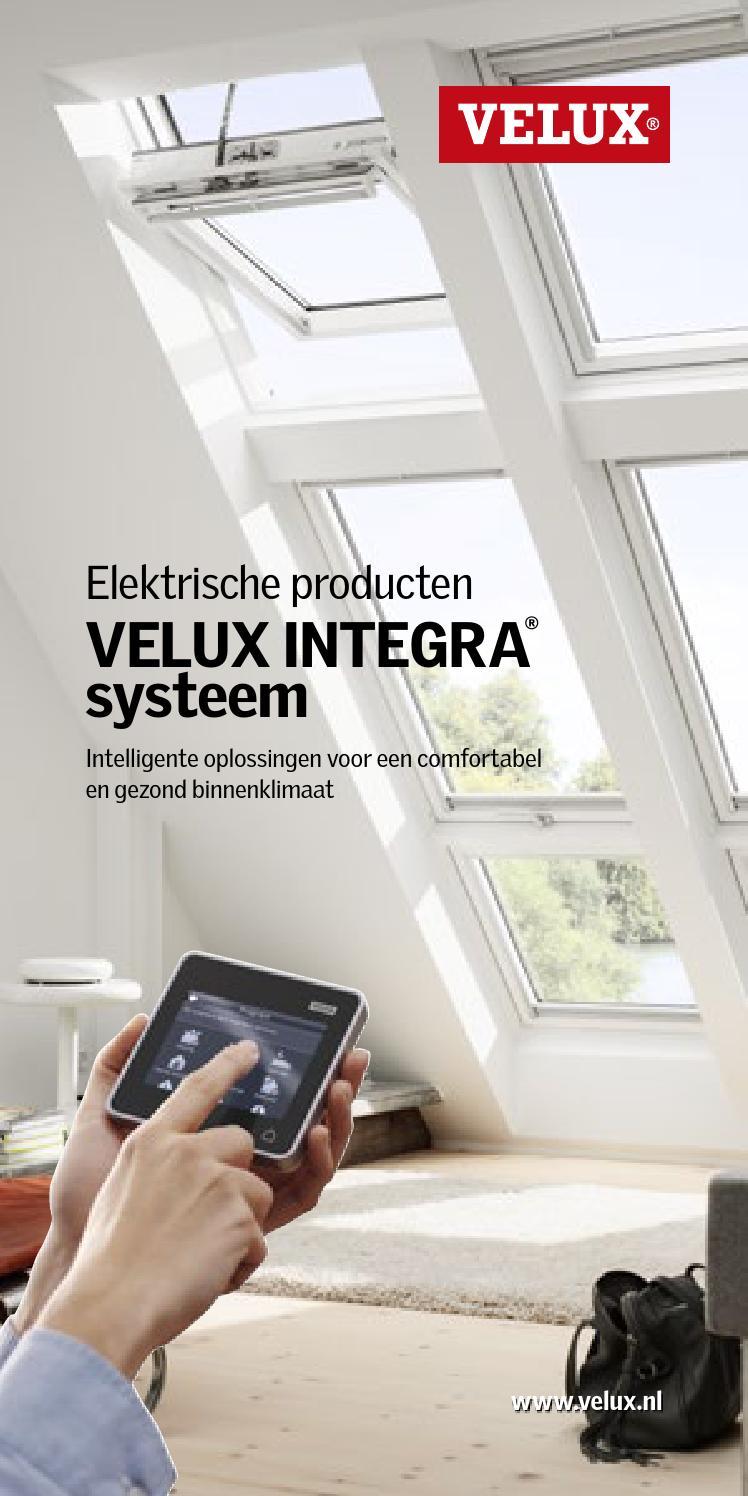 velux integra brochure velux by velux nederland b v issuu. Black Bedroom Furniture Sets. Home Design Ideas