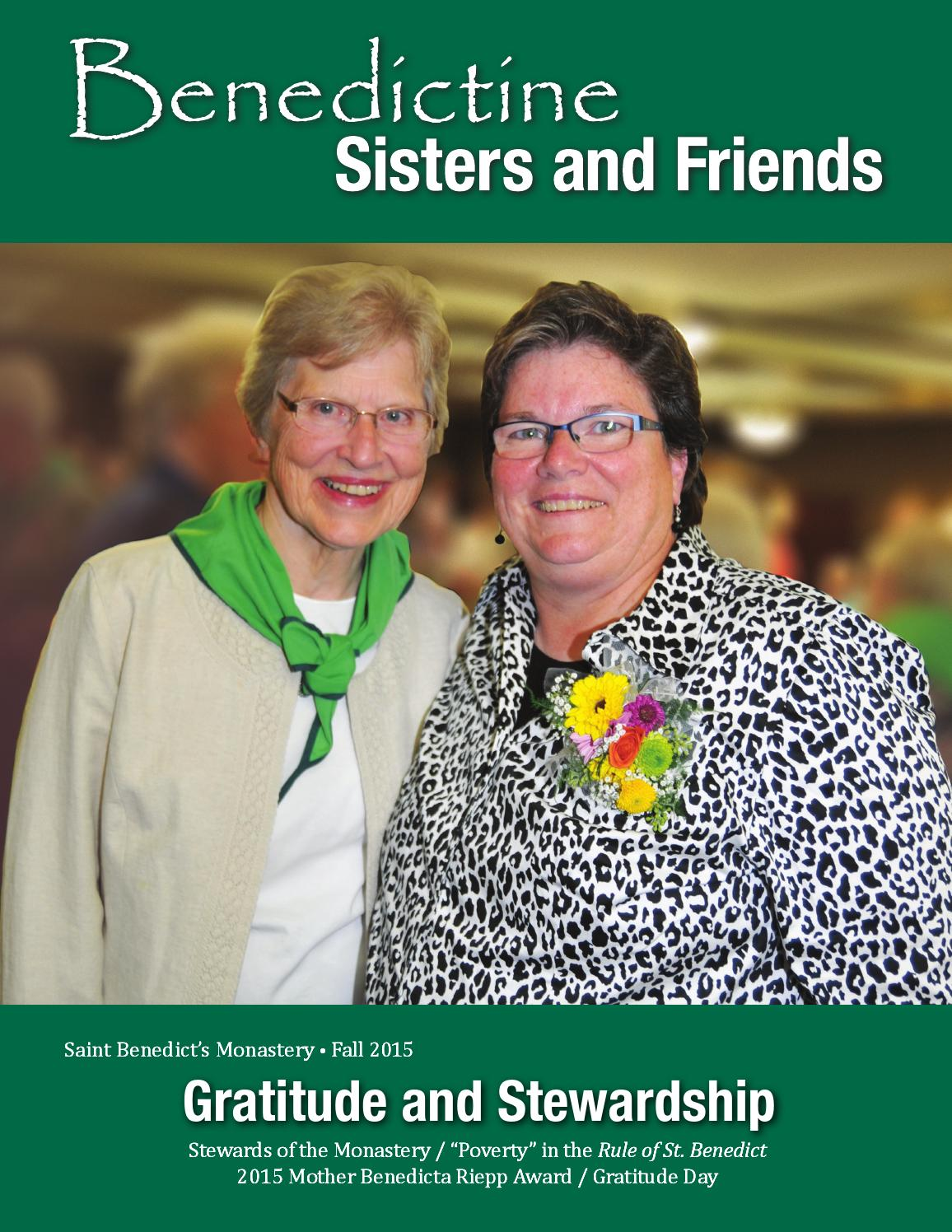 2015 Fall Benedictine Sisters And Friends By Saint