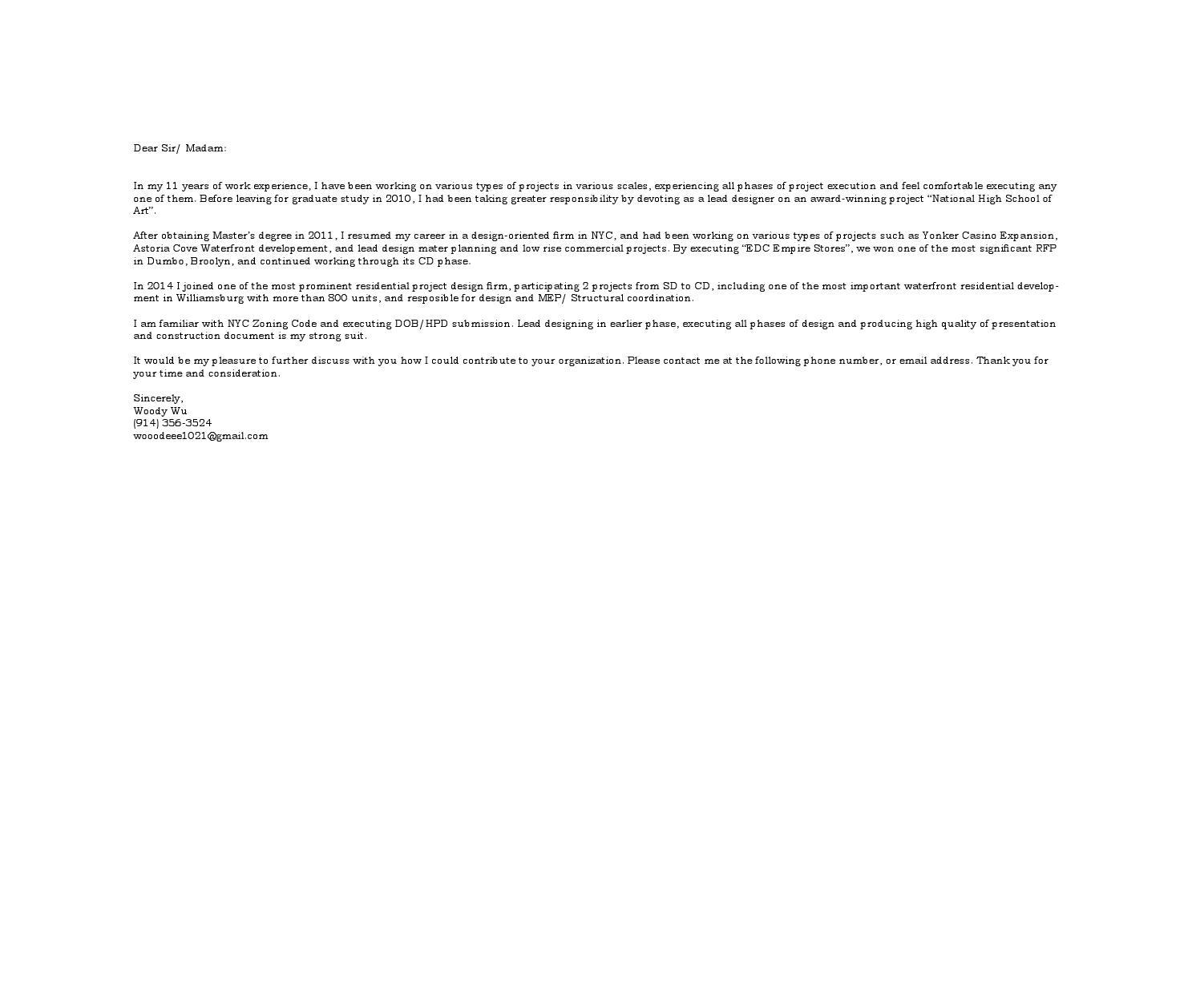 resume woody wu by woodee issuu
