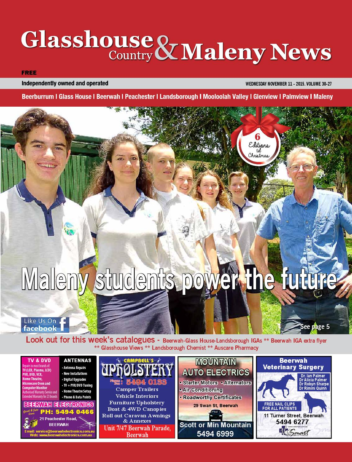 Edition 11 November 2015 By Glasshouse Country News Issuu
