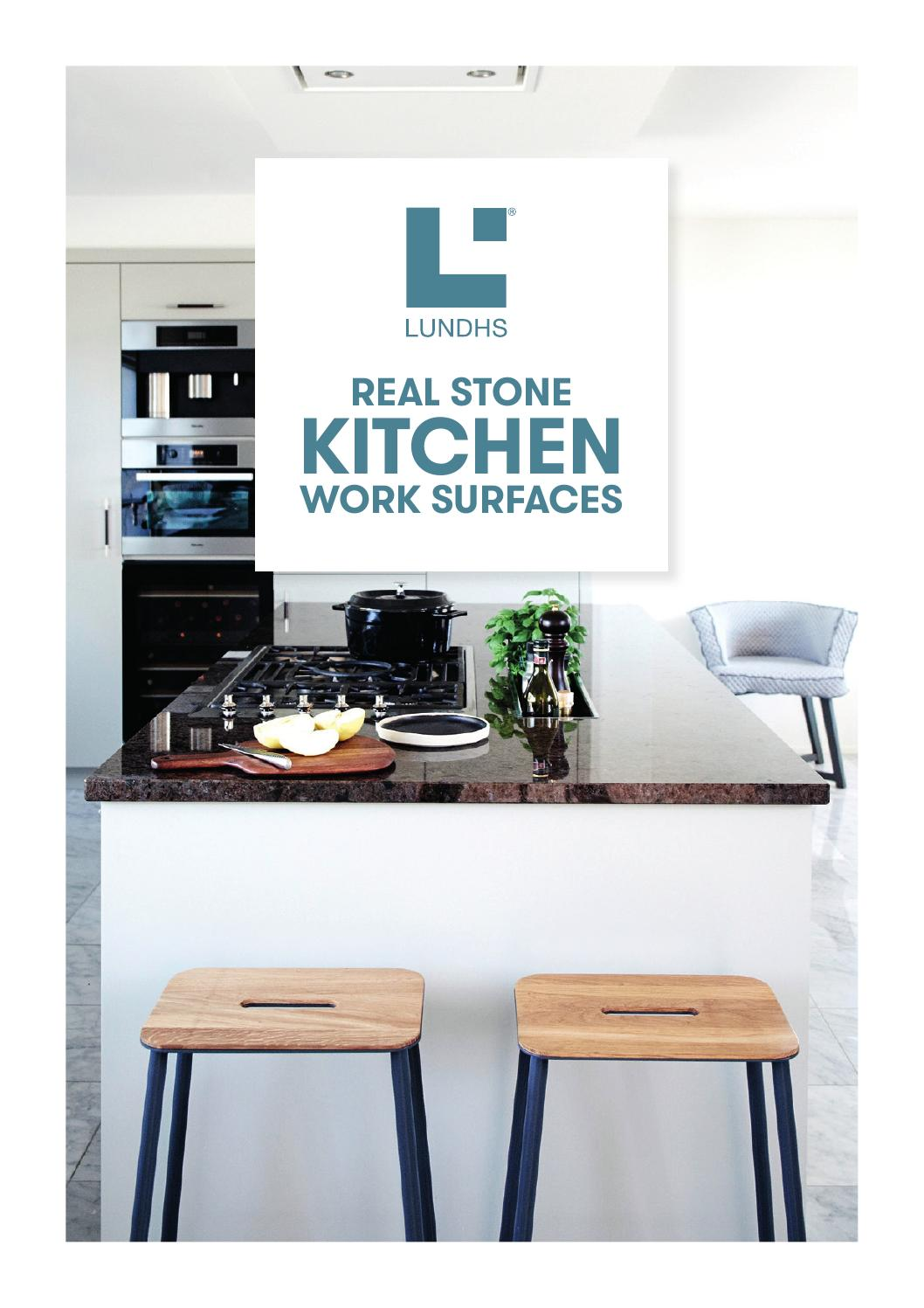 Lundhs Real Stone Kitchen Work Surfaces By Janne Magnussen