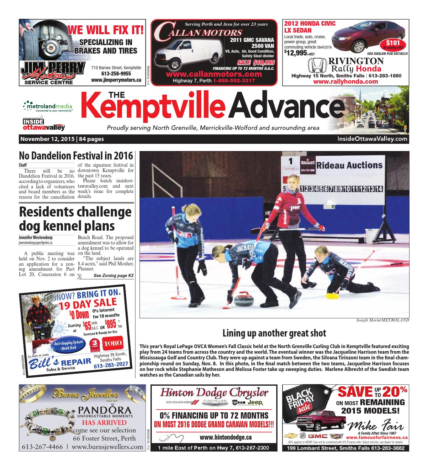 Kemptville092415 By Metroland East Kemptville Advance Issuu