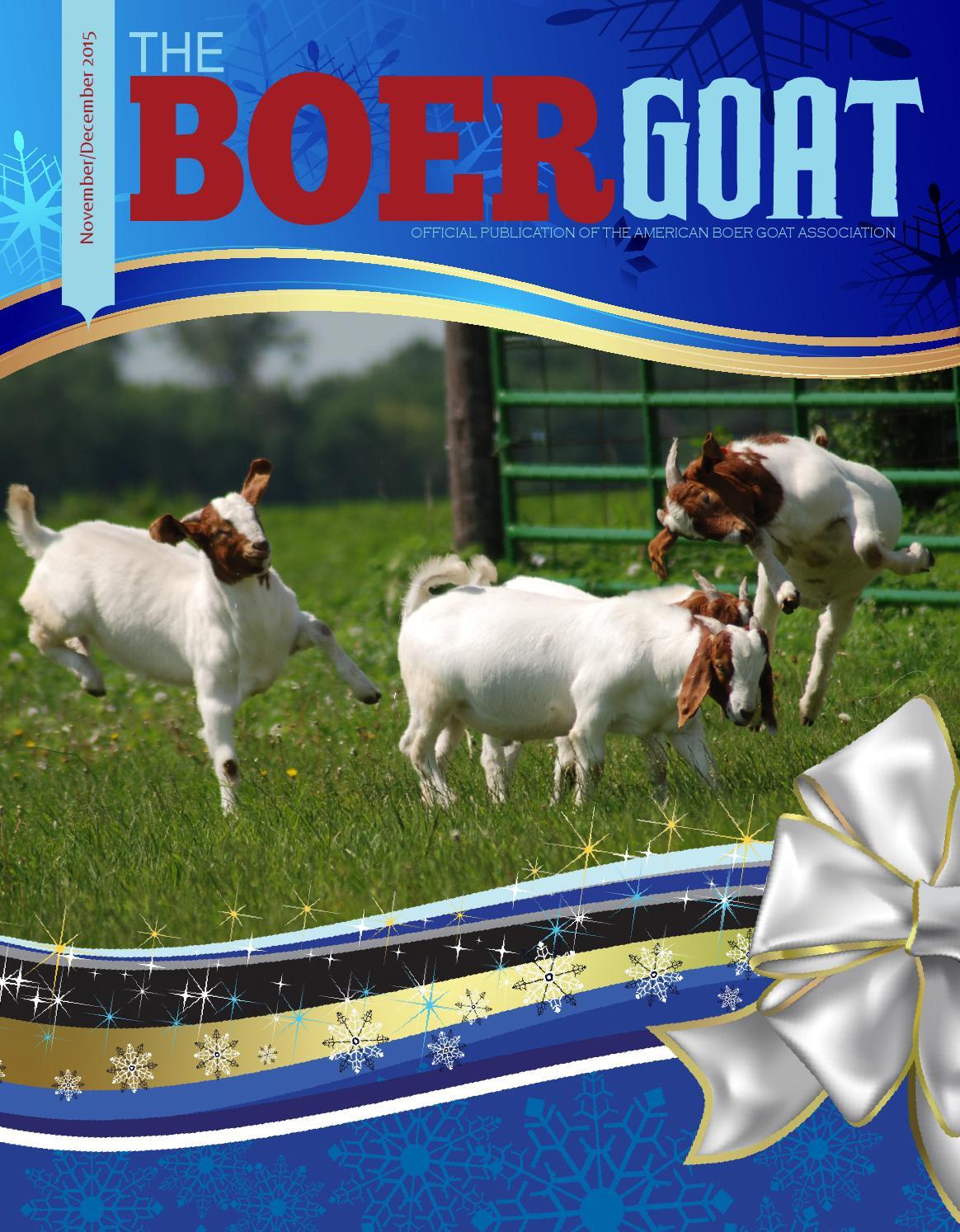NovDec2015 by American Boer Goat Association - photo#10