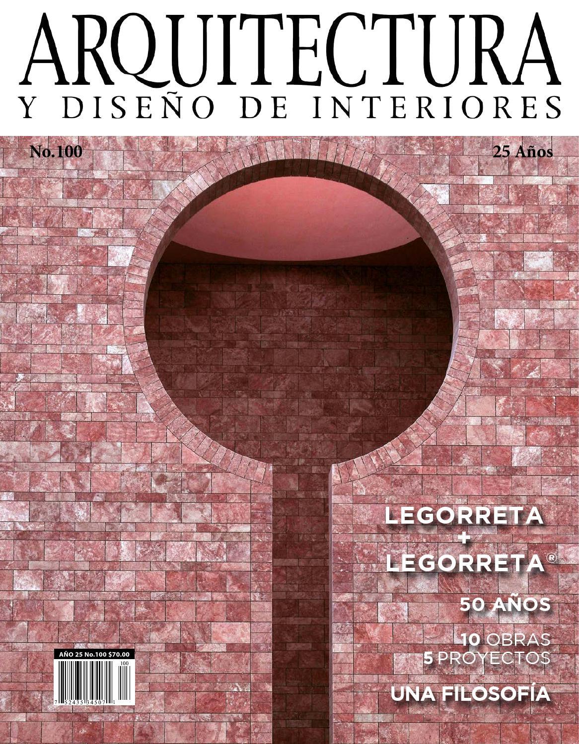Arquitectura y dise o de interiores 100 by arquitectura y for Paginas de arquitectura y diseno de interiores