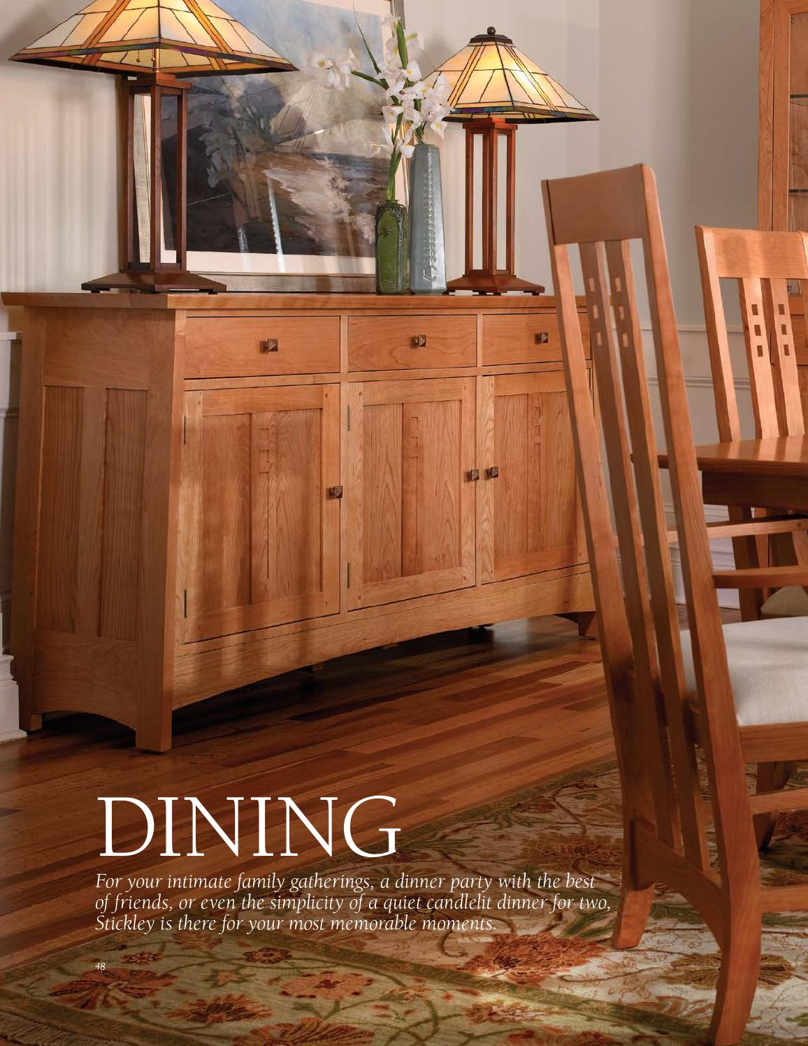 Stickley Mission Oak & Cherry Collection by Stickley
