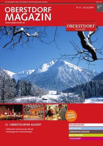 Oberstdorf Magazin 12/2015
