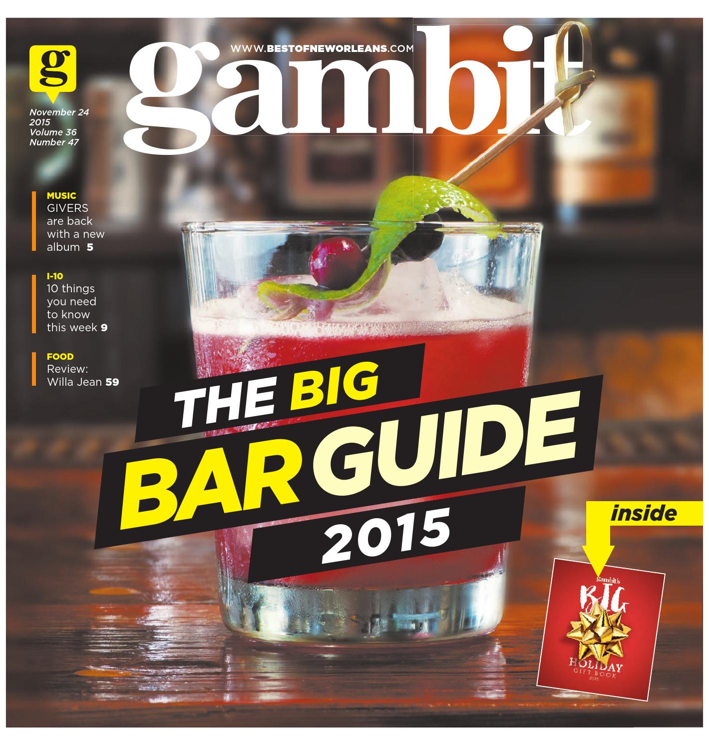 Jerseys NFL Cheap - Gambit New Orleans November 24, 2015 by Gambit New Orleans - issuu