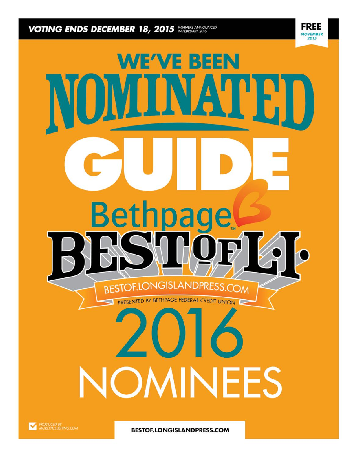 bethpage best of li nomination guide by private label issuu