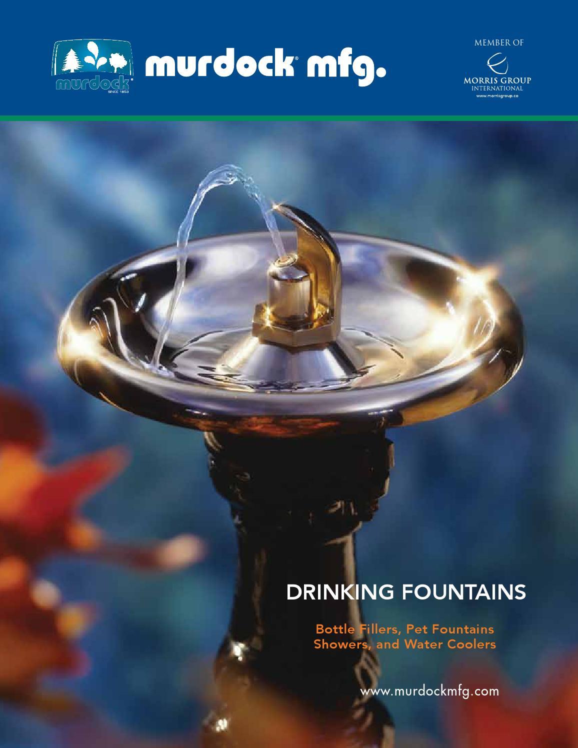 Murdock mfg drinking fountains by penchura llc issuu for Decor 5 5 litre drink fountain