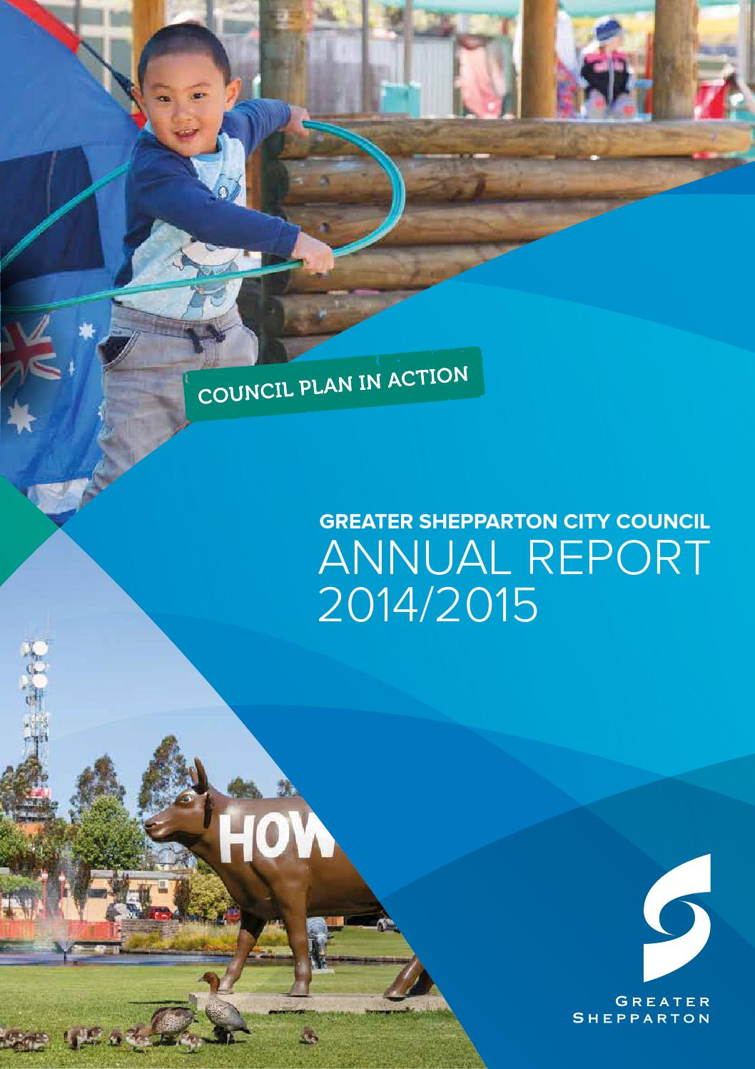 Kinder Garden: Greater Shepparton City Council Annual Report 2014/15 By