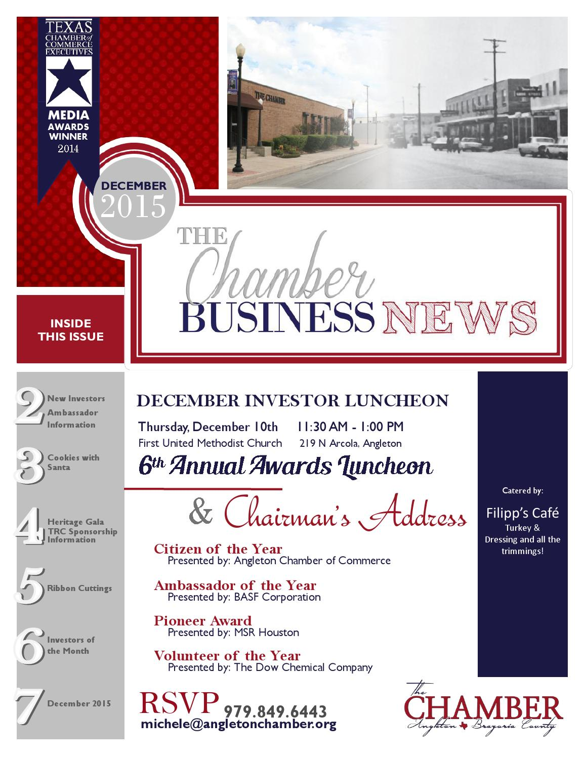 newsletter by angleton chamber issuu