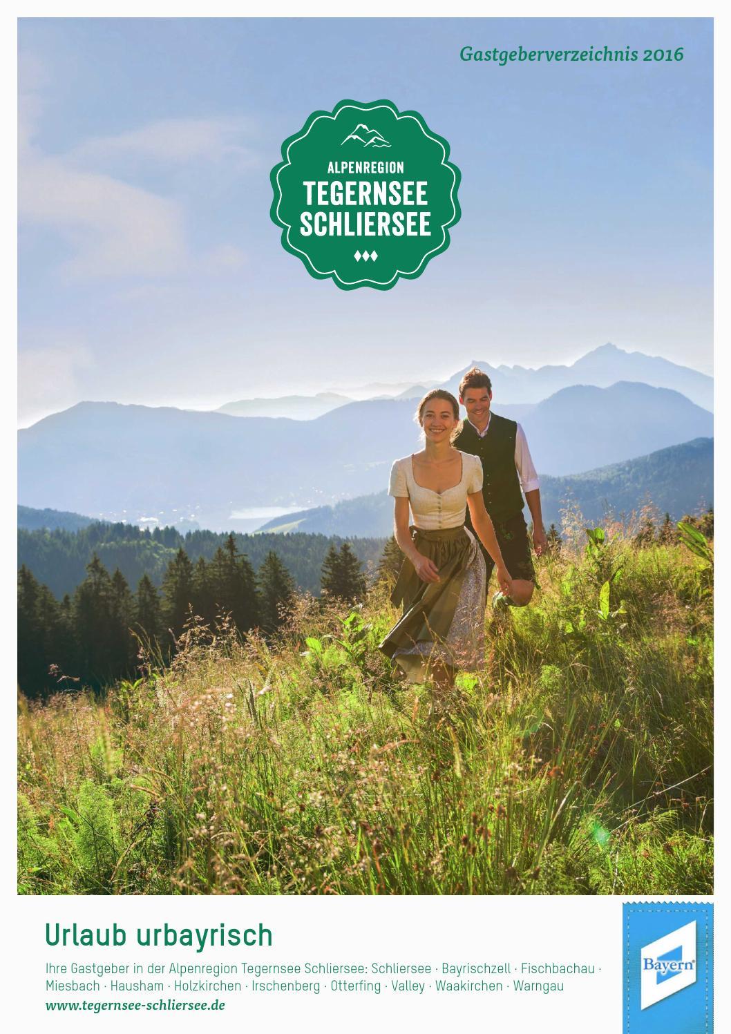 gastgeberverzeichnis der alpenregion tegernsee schliersee 2016 urlaub urbayrisch by thorsten. Black Bedroom Furniture Sets. Home Design Ideas