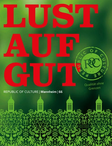 LUST AUF GUT Magazin | Mannheim Nr. 66