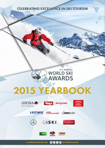 World Ski Awards 2015 Yearbook