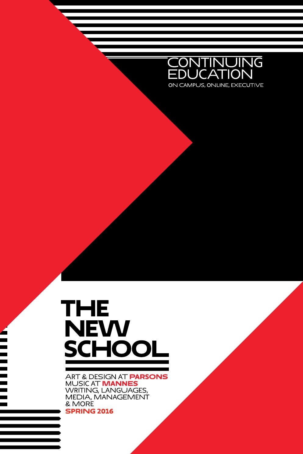 Continuing Education Spring 2016 The New School By The New School Issuu