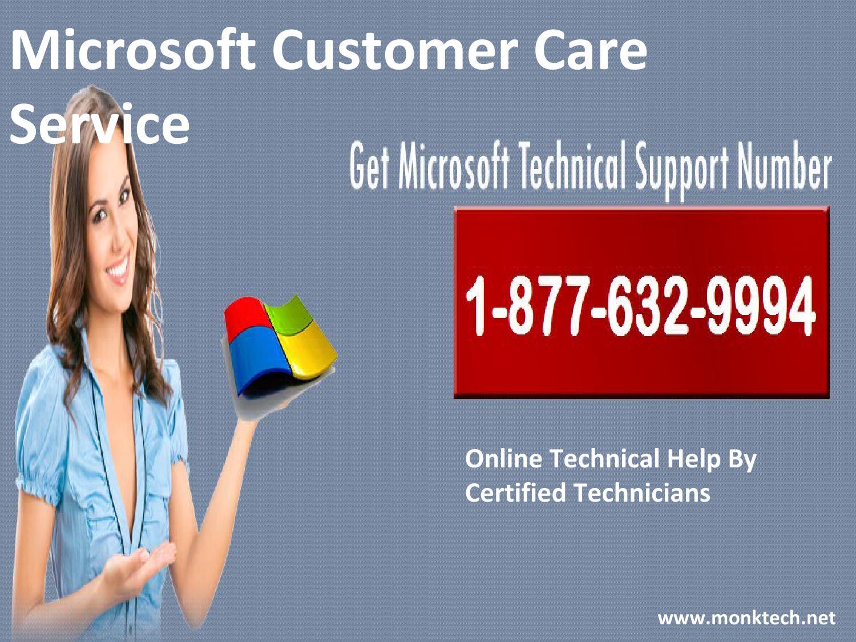 call microsoft customer care service 1