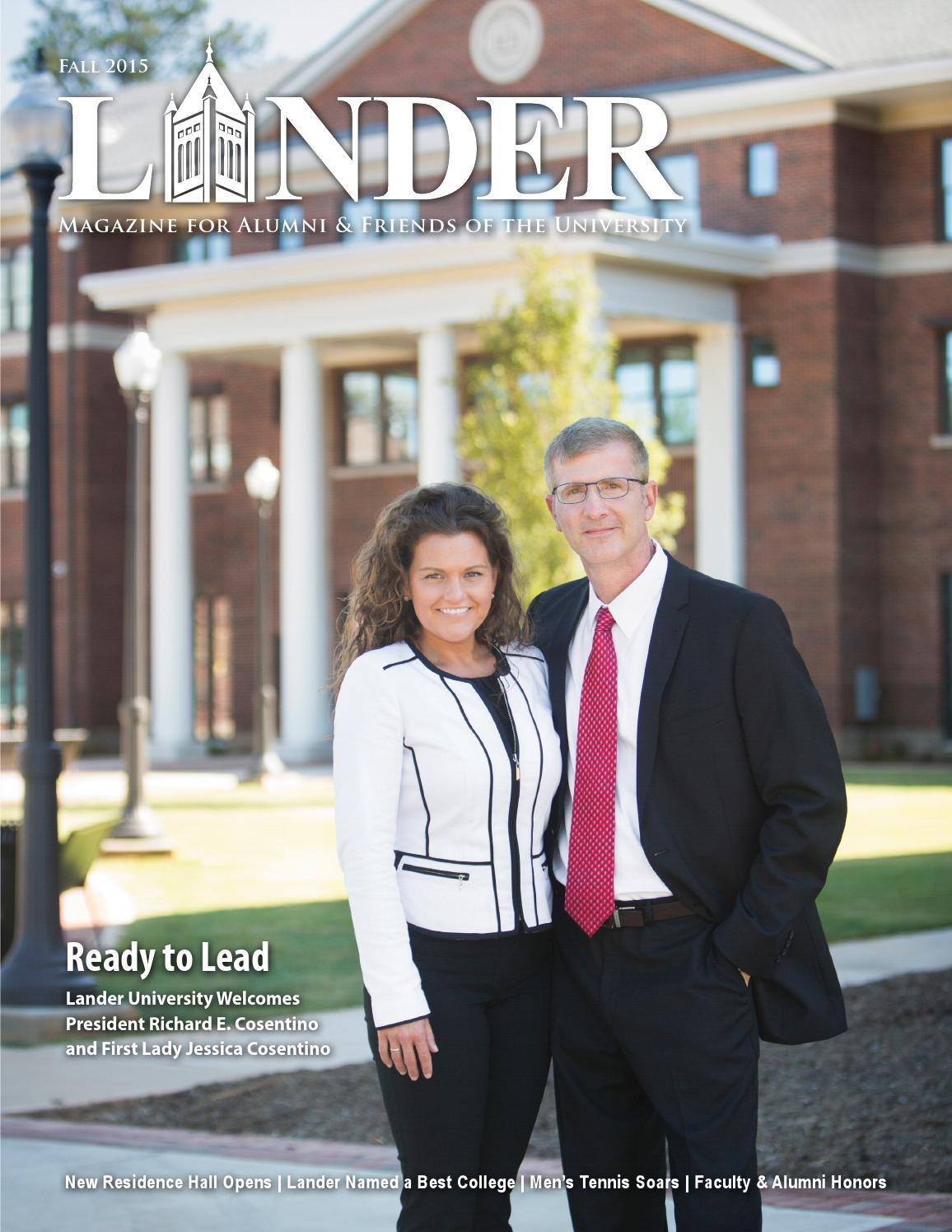 Lander Magazine Fall 2015 By Lander University Issuu