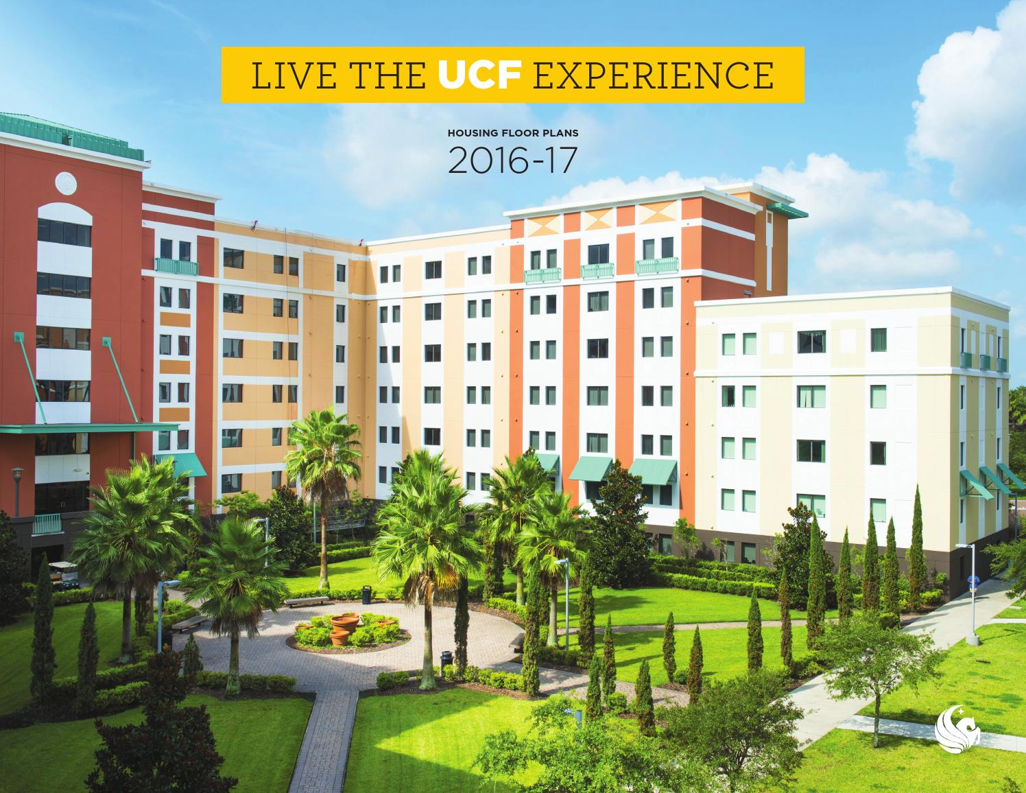 Ucf Housing Floorplans 2016 17 By University Of Central