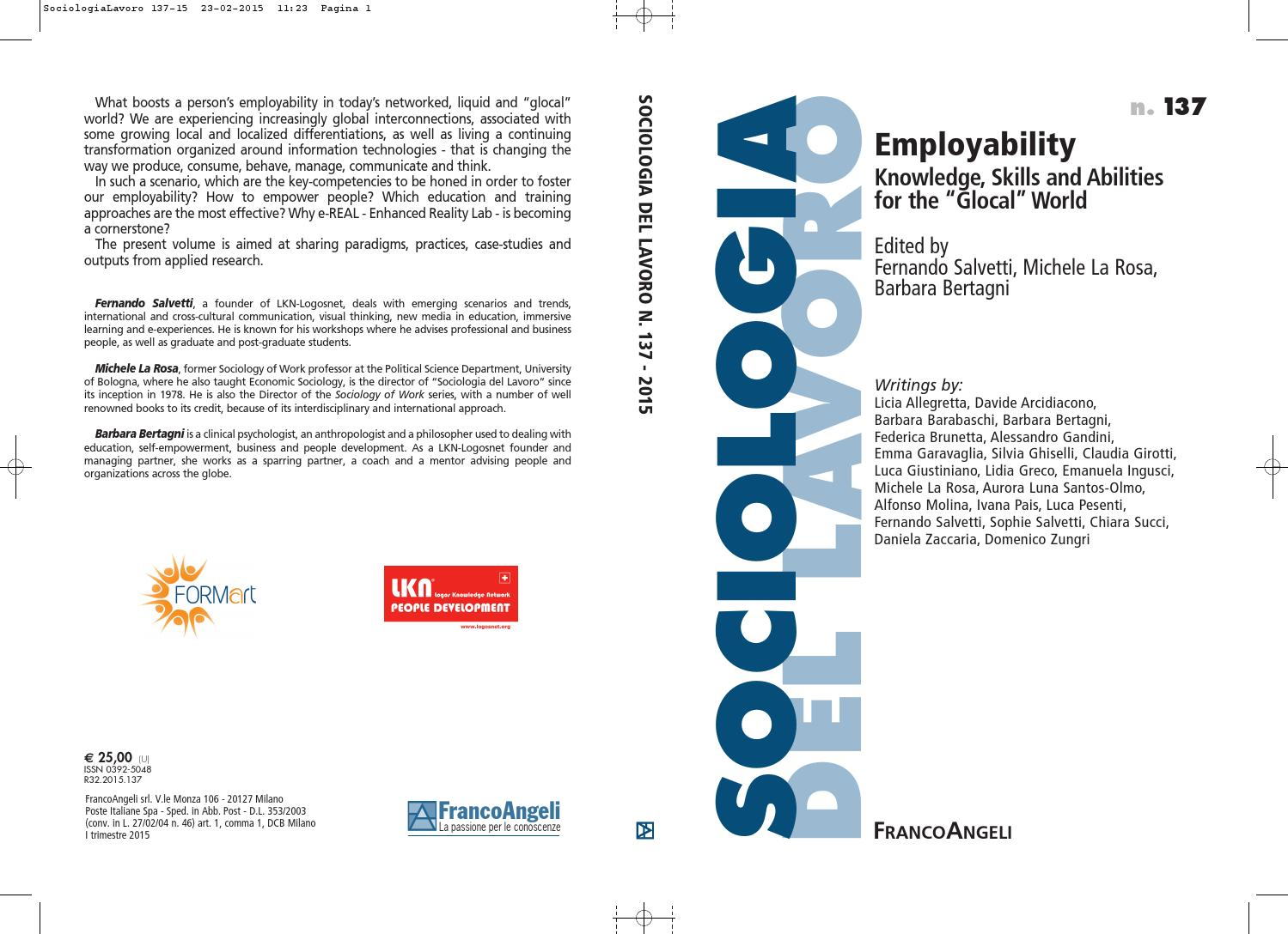 employability knowledge skills and abilities for the glocal knowledge skills and abilities for the glocal world by logosnet org issuu