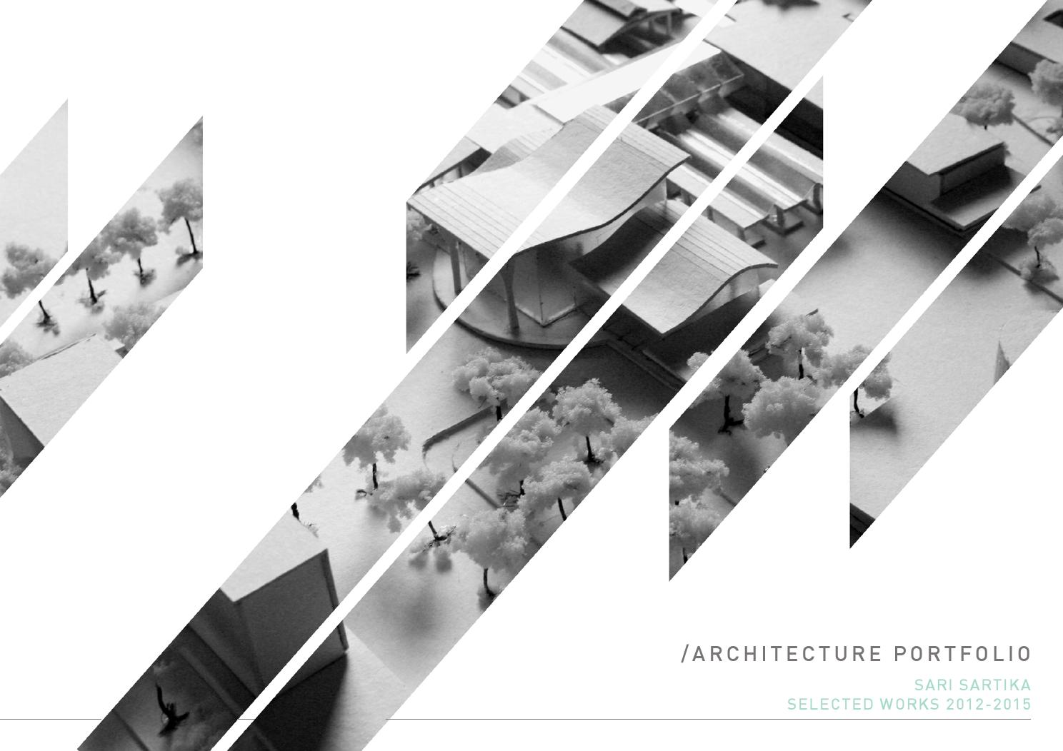 Architecture portfolio by sari sartika issuu for Online architects