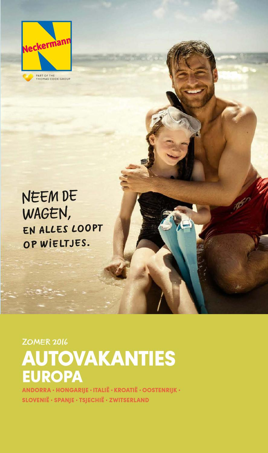 Neckermann Autovakanties Europa Zomer 2016 by Neckermann Belgium ...
