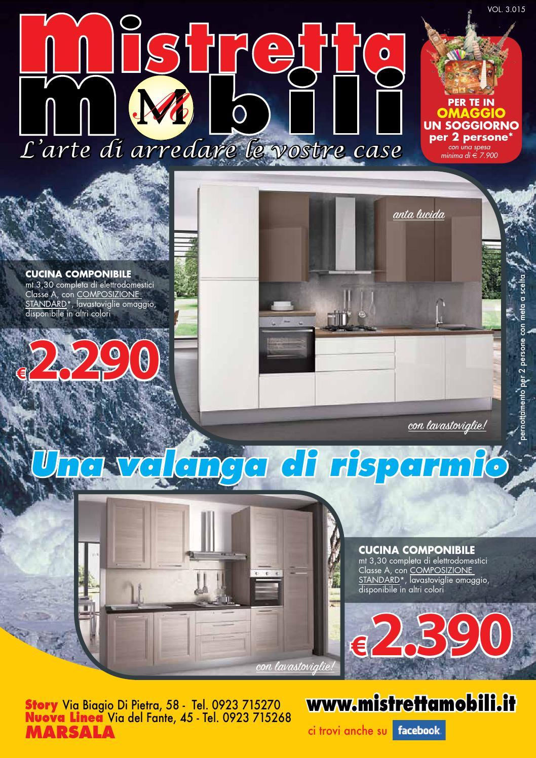 Volantino natale 2015 by mistretta mobili issuu for Volantino bricofer marsala