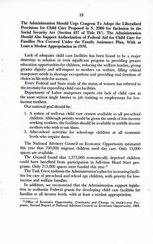A Matter of Simple Justice - Report of the President's Task Force on Women's Rights, Page 22