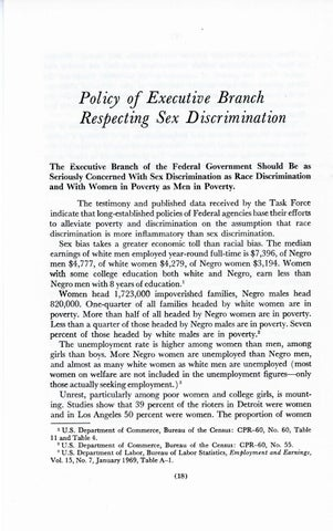 A Matter of Simple Justice - Report of the President's Task Force on Women's Rights, Page 27