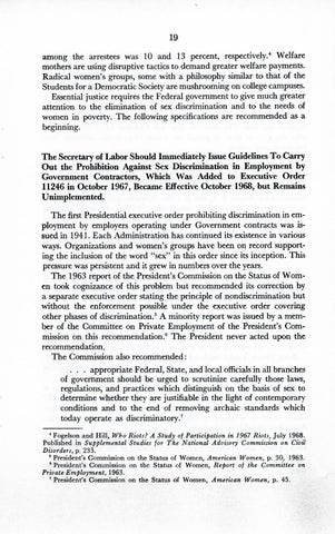 A Matter of Simple Justice - Report of the President's Task Force on Women's Rights, Page 28