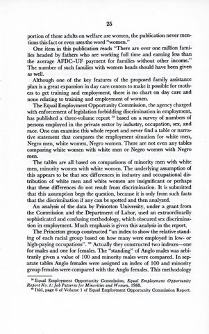 A Matter of Simple Justice - Report of the President's Task Force on Women's Rights, Page 34
