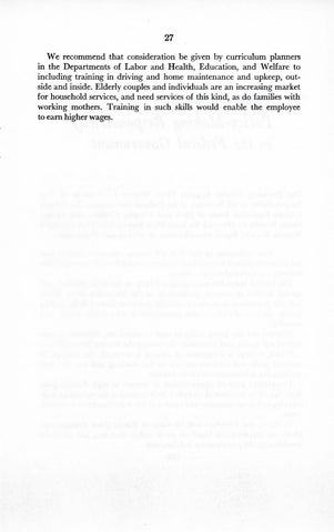A Matter of Simple Justice - Report of the President's Task Force on Women's Rights, Page 36