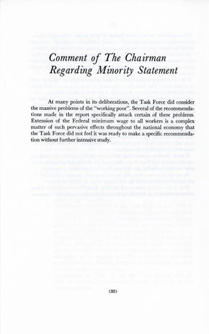 A Matter of Simple Justice - Report of the President's Task Force on Women's Rights, Page 41