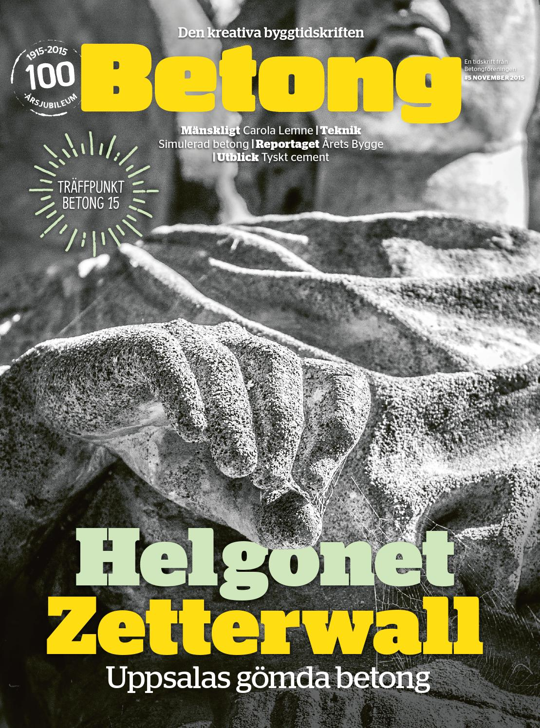 Tidskriften betong 4 2014 by tidskriften betong   issuu